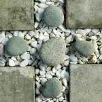 Create a low maintenance gravel border