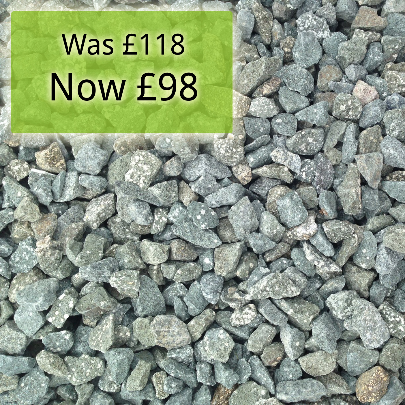 Green Granite Stone : Mm green granite buy gravels granites online