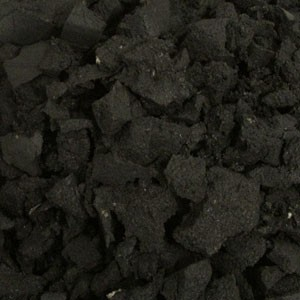Eco equestrian Rubber Chippings 30mm-Dust Bulk Bag