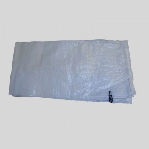 Empty White UV Protected Sand Bags