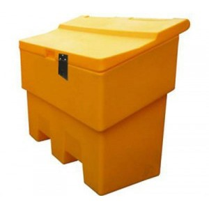 Grit Bin With Hasp+Staple