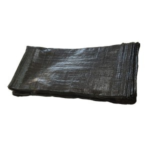 Empty Black UV Protected Sand Bags