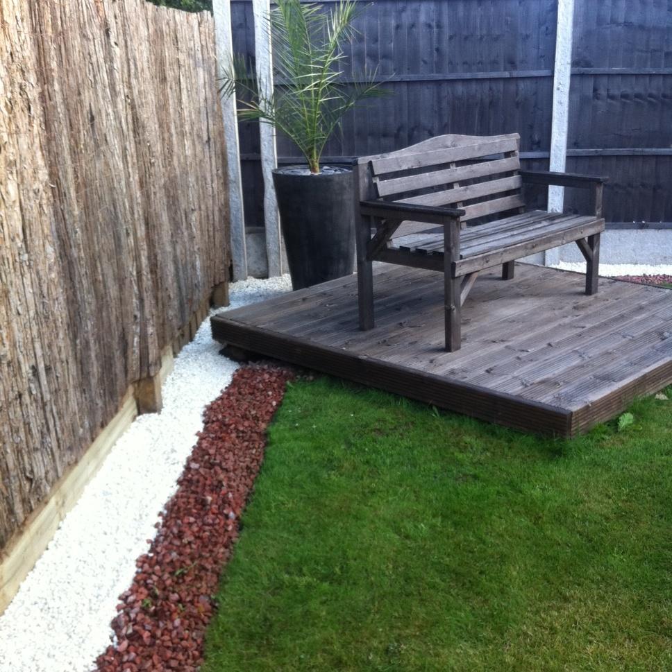 20mm red granite buy gravels granites online red for Blue slate garden designs
